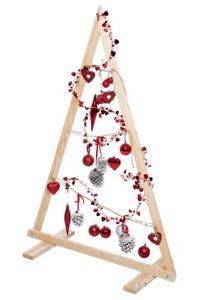 Weihnachtsbaum 110 Cm Holz Tannenbaum Holzbaum Weihnachtsdeko