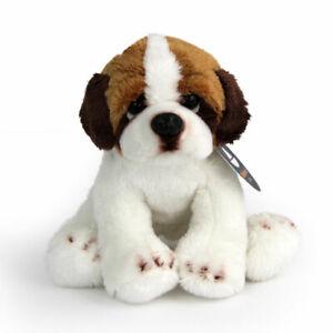 Stofftier-kleiner-Bernhardiner-Hund-Plueschtier-H-ca-11-cm