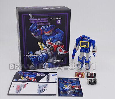 PocketToys PT04 Transformers onda sonora com 3 Fitas De Bolso Série 10cm Em Estoque
