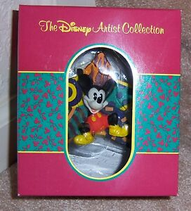 DISNEY-ARTIST-COLLECTION-034-MICKEY-MOUSE-034-PATRICK-SCANLAN-Christmas-Tree-Ornament