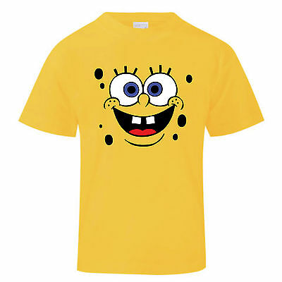 T-shirt Spongebob Bambino Bambina Maglietta Maglia Squarepants Cartoon Moda To Make One Feel At Ease And Energetic