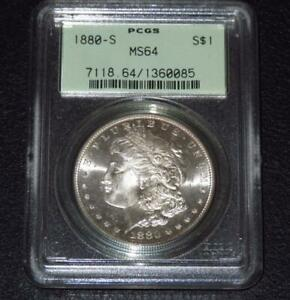 1880-S-Morgan-Dollar-PCGS-MS64-OGH-Old-Green-Holder