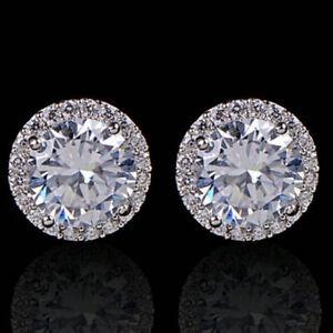 Sparkly-platinum-plated-round-zircon-amp-diamante-halo-stud-earrings-bridal