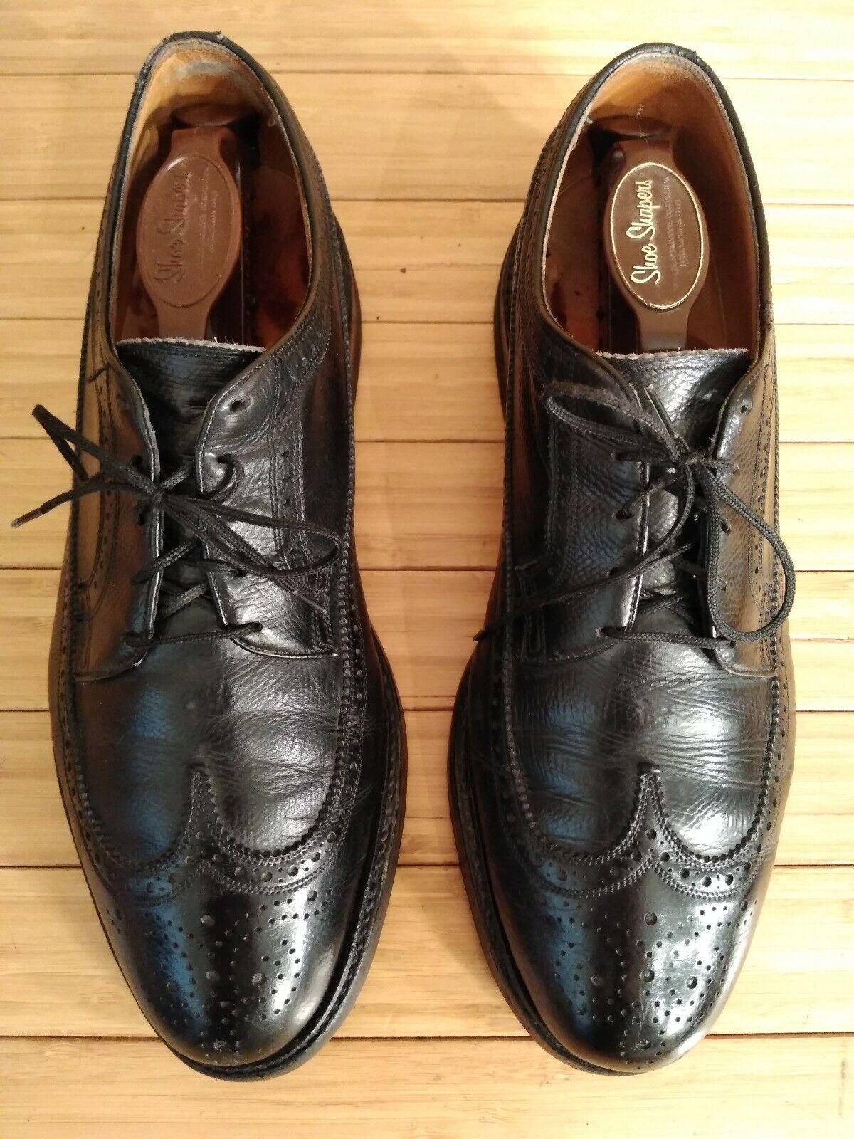 Florsheim Royal Imperial Vintage Wingtips Dress shoes. Men's 9.5 D