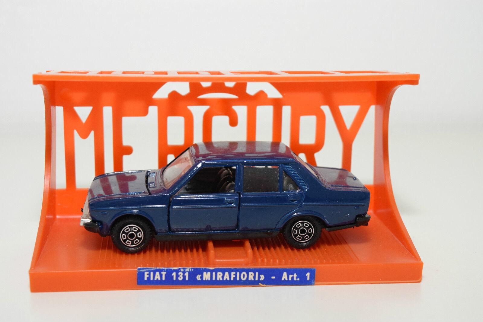 Mercury 1 FIAT 131 Mirafiori DARK blu MINT scatolaED RARE RARO RARO