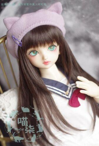 1//3 1//4 1//6 BJD Hat Beret Elastic Headgear Headwear Cap AOD AS AI POPO Cat Ears