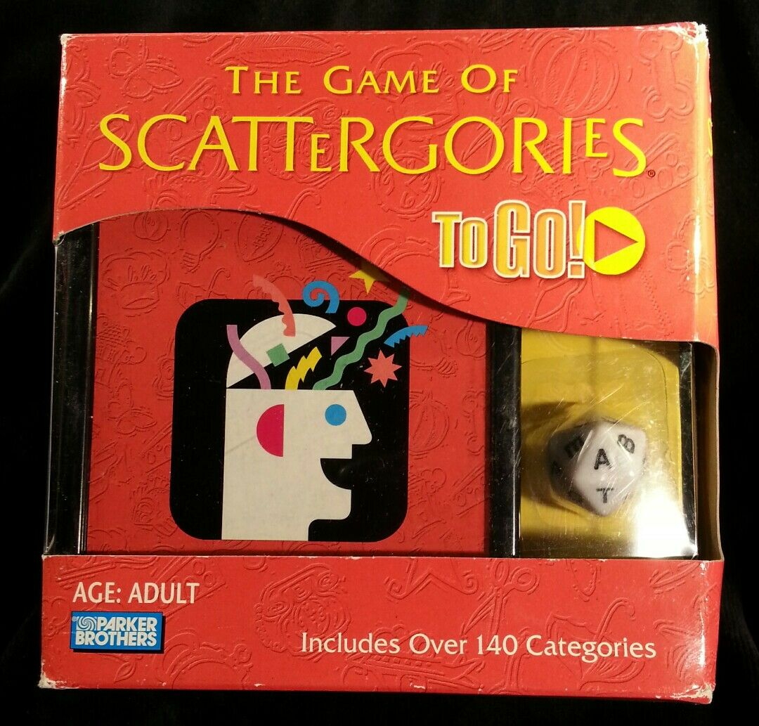 increíbles descuentos Scattergories To Go new new new Factory sealed box has some shelf where guaranteed  mas preferencial