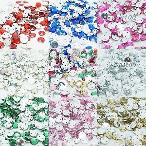 1000-Sew-On-Rhinestone-Beads-Diamond-Decoration-Gems-Flat-Back-Sewing-Trimmings