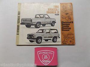 1986 ford ranger bronco ii electrical vacuum
