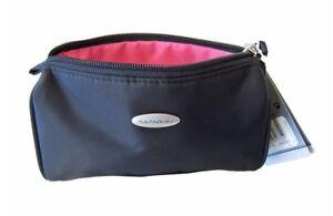 Samsonite-142-14-cosmeticos-estuche-negro-cosmeticos-bolso-bolso-neceser-nuevo
