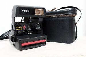 Schlussverkauf Vintage Retro Polaroid 636 Talkinginstant Camera Film Camera With Shoulder Bag Um Das KöRpergewicht Zu Reduzieren Und Das Leben Zu VerläNgern Analoge Fotografie