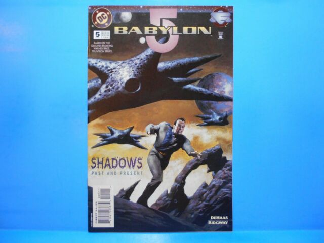 BABYLON 5 #5 of 11 1995 DC Comics Uncertified STRACZYNSKI Based on TV Series