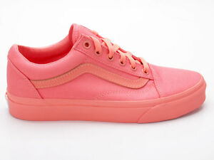 vans old skool naranjas
