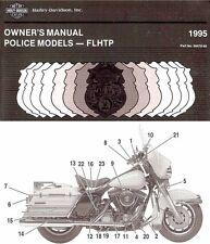 1995 harley davidson flhtp police electraglide owners manual repair rh ebay com Die Cast Harley-Davidson Motorcycles 2004 Harley-Davidson Electra Glide Police