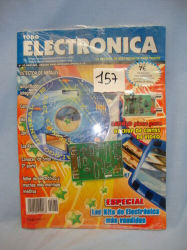 KIT REGALO Nº 32 AÑO VIII REVISTA MAGAZINE TODO ELECTRONICA COD$*157