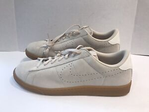 wholesale dealer 48ee3 d21f0 Image is loading New-Nike-Tennis-Classic-CS-Suede-Beige-Suede-
