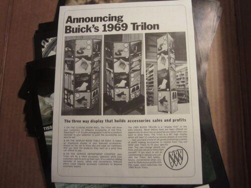 1969 Buick Electra Riviera Skylark Special Trilon accessory panels