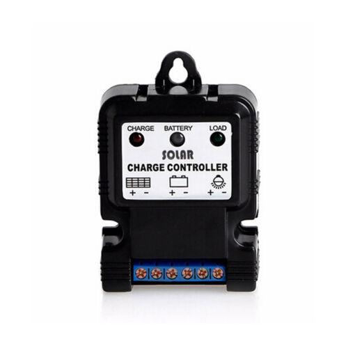 6V 12V 10A Solar Panel Charge Controller Battery Charger Regulator PWM BSG
