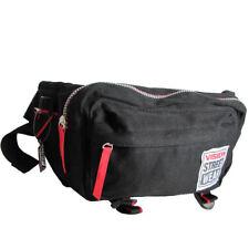 Vision Street Wear Mens Sling Pack Cross Shoulder Skater Bag, Black/Red