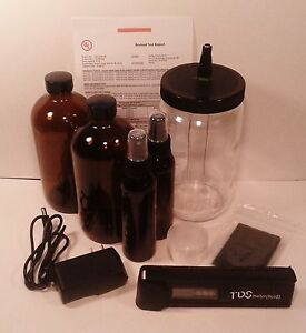 Colloidal Silver Generator Quart Size With 16 Ounce Amber