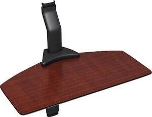New Cambre Sky Shelf Single Floating Shelf Cherry Wood Finish for AV SW1WS-BC