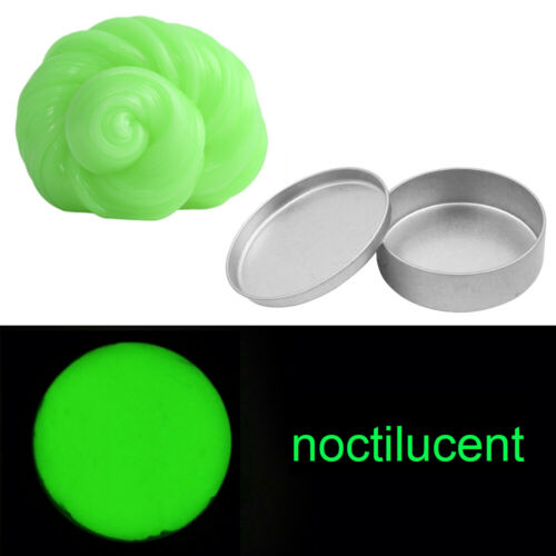 Leuchtender Schleim Putty DIY Schlamm Hand Gummi Stress Relief Spielzeug