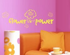 Flower Power - Highest Quality Wall Decal Sticker