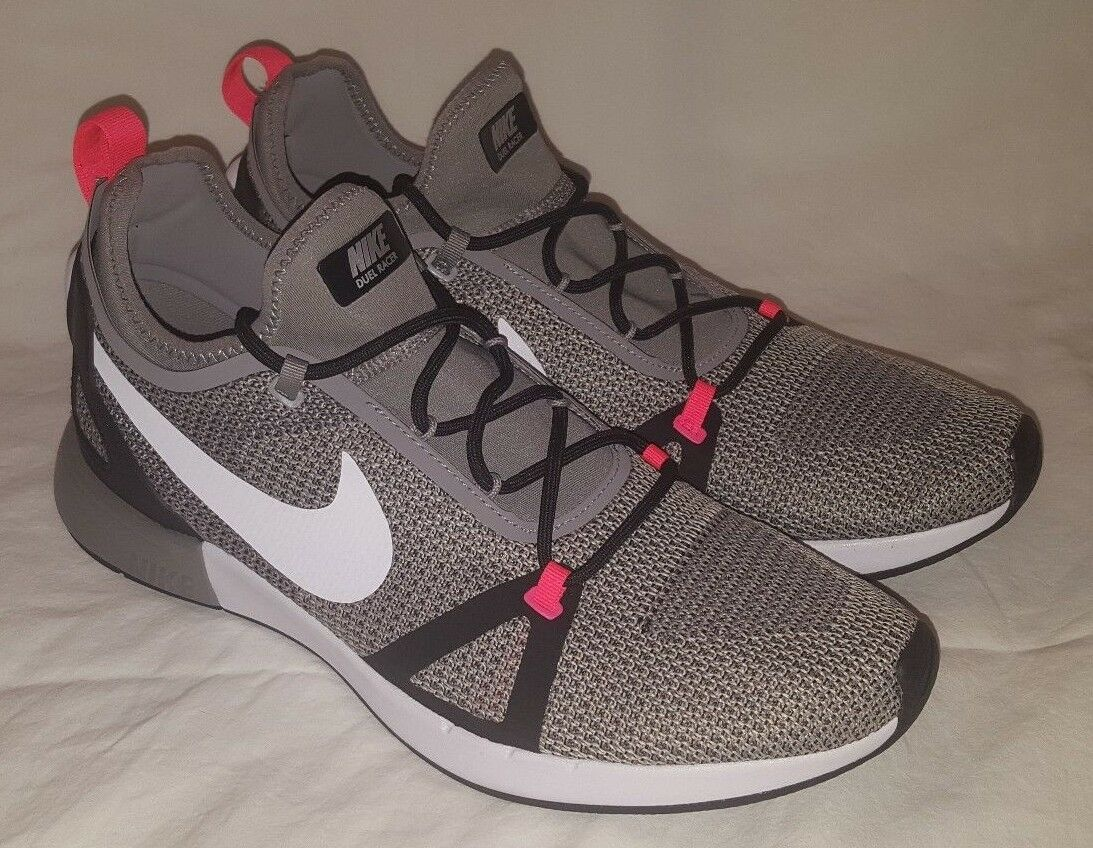 Nike Duelist Racer Men's SIZE 11 Light Charcoal White-Grey-Black 918228-008