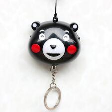 140dB Little Bear Female Anti-wolf Device SOS Emergency Personal Alarm Keychain