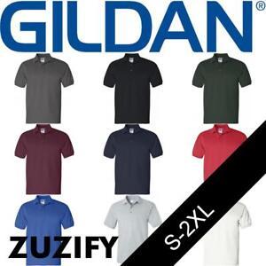34f88d9fd711 Image is loading Gildan-Ultra-Cotton-Jersey-Polo-Shirt-2800