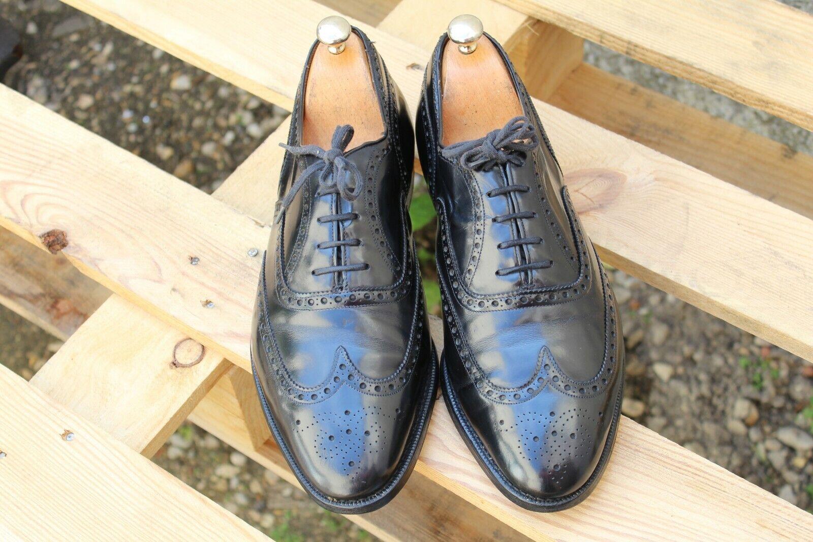 7c376f1b24f556 Chaussures Church's modèle Hickstead cuir glacé taille 90 G 43 en très bon  état