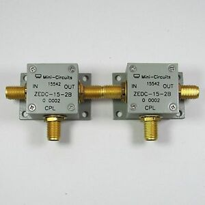 1pc Mini Circuits ZEDC-15-2B 1-1000MHz 15dB SMA Directional Coupler #C2O4