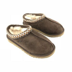 99e3f36a08a Details about UGG Australia Tasman Kids Slippers Shoes 5252 K Chocolate  Children Size 13 EU 30