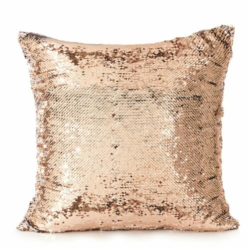 Magic Gifts-Personalised Sequin Cushion Cover Mermiad Reveal Pillowcase Cover