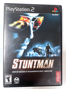 GH Stuntman SONY PLAYSTATION 2 PS2 Game TESTED + Working! Complete CIB