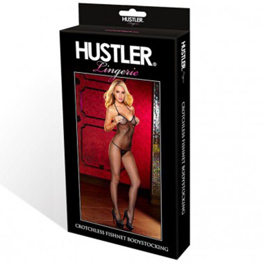 Sexy Tutina Bodystocking Bodystocking Tutina rete Negro cavallo aperto tuta Ouvert Hustler Lingerie 9d1bb6
