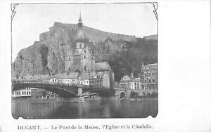 B105609-Belgium-Dinant-Le-Pont-de-la-Meuse-L-039-Eglise-Citadelle