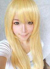 Attack on Titan Krista Lenz 70cm Straight Light Blonde Lolita Cosplay Party Wig