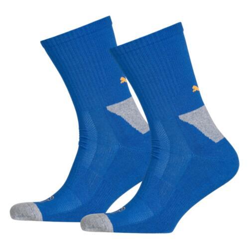 2 Pair Sport Pack PUMA Sports Socks UK 2.5-5 Cell Crew Performance Running//Gym