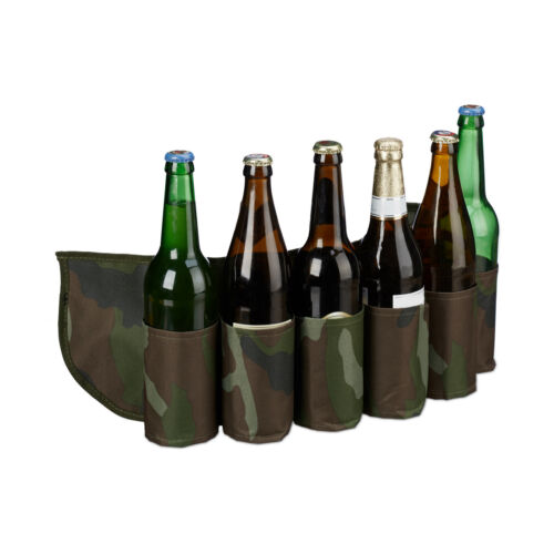 Biergürtel Sixpack Dosengürtel Getränkegürtel Beer Belt Bierhalter Gürtel Bier