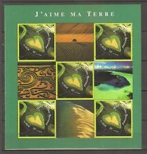 FRANCE 2002...MINIATURE SHEET n° 43 MNH **...HEARTS...YANN ARTHUS BERTRAND