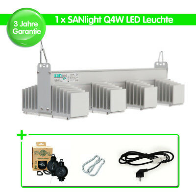 mosquetón cable de alimentación 1x sanlight q4w LED lámpara grow easy rolls