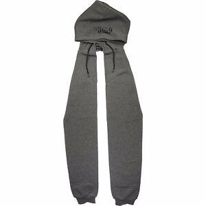 9bea1250 Details about Puma FENTY x RIHANNA - Scarf Joint Hood/Hat Hoody 021260- Wrap  Around Gray black