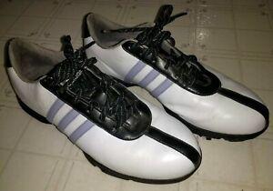Adidas Z-Traxion Golf Shoes White Black