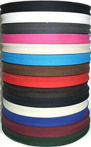 Bande-de-biais-de-coton-pliable-1-3cm-33-metres-rouleau-couleurs-diverses