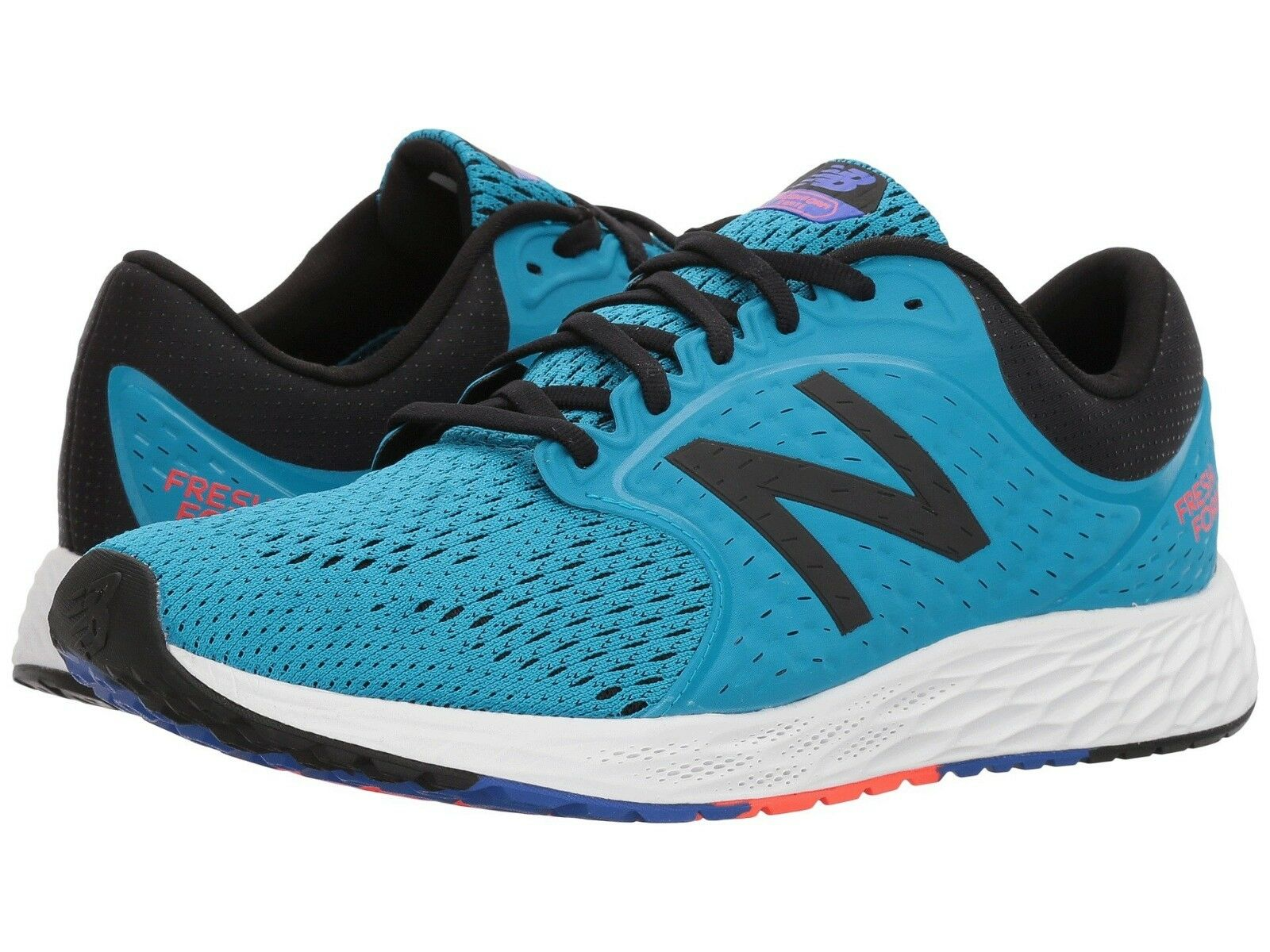 New Balance Men's Running shoes  ZANTEv4 Fresh Foam Maldives bluee Black Flame 10