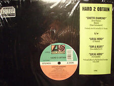 "HARD 2 OBTAIN - GHETTO DIAMOND / LOCAL HERO / ISM & BLUES (12"") 1994!!  RARE!! ♫"