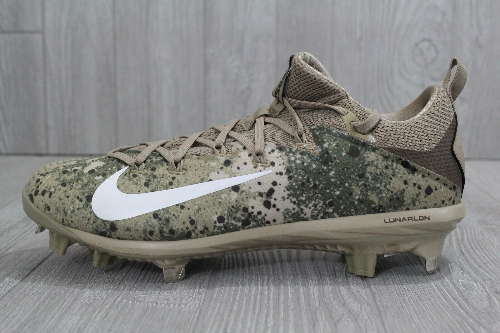 27 Nike Lunar Vapor Ultrafly Elite Baseball Cleats 852686-211 Khaki Camo Men 12 The most popular shoes for men and women