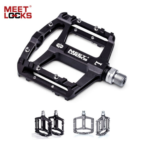 MEETLOCKS Utral Sealed Bike Pedal CNC Aluminum Body For MTB Road Bicycle Cycling