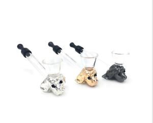new-glass-Dog-head-Creative-Detachable-Smoke-Portable-Pipe-Tobacco-Smoke-Pipes